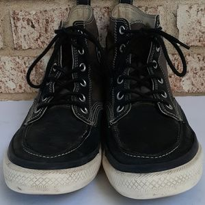 Converse All Star Black and Gray High Top